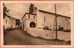 CPA 64 BIDART Rue De L' église - France