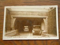 Monding Van Den GROOTEN TUNNEL / Anno 1933 ( Fotokaart - Zie Foto Voor Details ) !! - Antwerpen