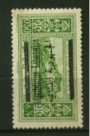 Grand Liban  N° 99a  Neuf  *  Surcharge Renversée  Cote Y & T  55 Euro Au Quart De Cote