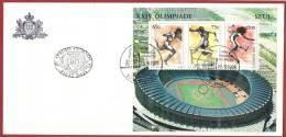 San Marino 1988 - FDC Olimpiadi Di Seul, Olympics Seoul - FDC