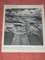 TUNISIE   1950  AGRICULTURE LA VALLEE DE LA MEDJERDAH / CARTHAGE / TUNIS    FORMAT 24X21 CM - Lieux