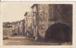 Carte Postale Photo H.DONNER - SAINT-RAPHAËL (Var) - Maisons Avec Arcades - VOIR 2 SCANS - - Saint-Raphaël