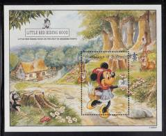 St. Vincent Grenadines MNH Scott #974 Souvenir Sheet $6 Disney´s Mickey & Minnie In Little Red Riding Hood - St.Vincent & Grenadines