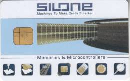 SILONE CARD CHIP - Memories & Microcontrollers - Unclassified
