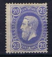 Belgium: OBP 31  MH/* 1869 - 1869-1883 Léopold II