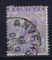 Belgium: OBP 41  Used Obl. - 1869-1883 Léopold II