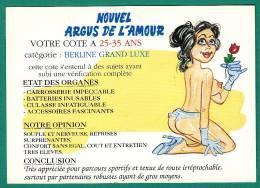 Nouvel Argus De L Amour - Votre Cote à  25 - 35 Ans - Humor
