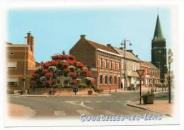 CPM - COURCELLES-LES-LENS - Rond-Point Des Rues Des Poilus - Raoul Briquet - Emile Zola  - Coul - Ann 2002 - - Francia