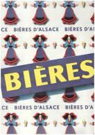 Publicité 1960 BIERES BIERE D ALSACE - Unclassified