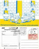 Habas Landes Premier Jour De La Flamme  2 éime Expo Theme Code Postal - Humour