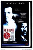 VHS Video  -  Philadelphia  -  Mit Tom Hanks , Denzel Washington , Spannend - Mitreißend - Brisant - Dramma