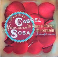 Disque Vinyle Super 45 Tours Francis CABREL Yo Vengo A Oferecer Mi Corazon - Vinyles