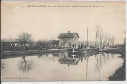MOUSSY SUR AISNE - Canal De L'Aisne à L'Oise - Sortie D'un Bateau De L'Ecluse - PENICHE - Unclassified
