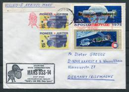 1976 USA Viking 2 Mars  Space Rocket Cover - Covers & Documents