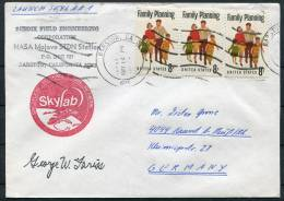 1973 USA Barstow Launch Station Skylab Space Rocket Cover - Signed - Covers & Documents