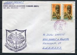 1973 USA NNPA Colarado Space Rocket Cover - Covers & Documents