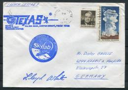 1973 USA Texas Skylab Space Rocket Cover - Covers & Documents