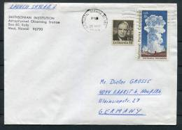 1973 USA Astrophysical Observing Centre Skylab Space Rocket Cover - Covers & Documents