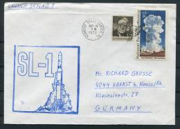 1973 USA Skylab Space Rocket Cover - Covers & Documents