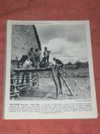 VIET NAM / ANNAM  1950   ETHNIE THAI CASE SUR PILOTIS   FORMAT 24X21 CM - Lieux