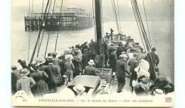 14* TROUVILLE  Sur Le Bateau Du Havre - Trouville