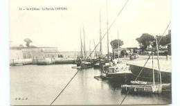 17* ILE  D OLERON   Le Port Du Chateau - Ile D'Oléron