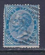 Italy, Scott # 28 Used Victor Emmanuel Ll, 1877, Trimmed Perfs - 1861-78 Vittorio Emanuele II