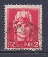 Italy, Scott # 457 Used Italia, 1945 - 5. 1944-46 Lieutenance & Umberto II