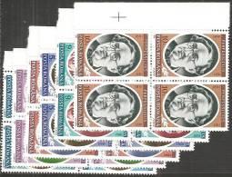 Romania 1991 Nuovo** - Mi.4752/57  Yv.3977/82  Quartina - Nuovi