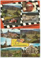 ÖSTERREICHRING Formel 1 Steiermark Ab 1969 2 Ansichtskarten 1977 - Motorsport
