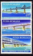 Rumänien 1972 - 3031-33 ** / Michel 2008 - Unused Stamps