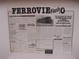 FERROVIE  FLASH /  N°0 - Trains électriques
