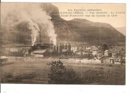 TARASCON SUR ARIEGE VUE GENERALE LE CASTELLA ET LES HAUTS FOURNEAUX - Unclassified