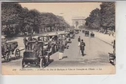 AUTO - TAXI - Paris 1917, Verlag: Louis Levy - Paris # 470 - Taxis & Droschken