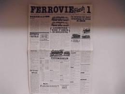 FERROVIE  FLASH /  N°1 - Trains électriques