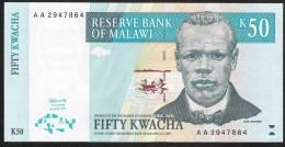 MALAWI   P39   50   KWACHA    1997    UNC. - Malawi