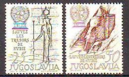 Yugoslavia 1962 Y UNESCO Mi No 992-93 MNH - Unclassified