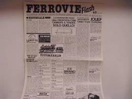 FERROVIE  FLASH /  N°3 - Trains électriques