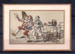 Chromo - E & G.D.F. - Clown Blanc - Chromos