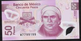 MEXICO  P123g     50  PESOS  23.4.2009 Serie M          UNC. - Mexico
