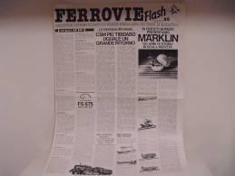 """FERROVIE  FLASH /  N°6 - Speciale """"N"""" - Trains électriques"""