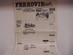FERROVIE  FLASH /  N°7 - Trains électriques