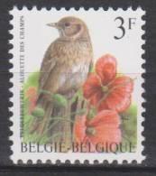 Belgique N° 2705 *** Oiseaux-Buzin - Alouette Des Champs - 1997 - 1985-.. Oiseaux (Buzin)