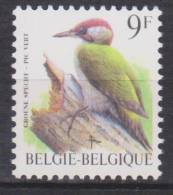 Belgique N° 2778 *** Oiseaux-Buzin - Pic Vert - 1998 - 1985-.. Oiseaux (Buzin)