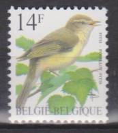Belgique N° 2623 *** Oiseaux-Buzin - Pouillot Fitis - 1995 - 1985-.. Oiseaux (Buzin)