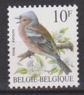 Belgique N° 2351 *** Oiseaux-Buzin - Pinson - 1990 - 1985-.. Oiseaux (Buzin)