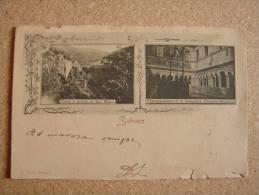 Rm1196)  Subiaco - Ponte E Dorrido Di San Mauro  -  Protomanastero Di S. Scolastica (Chiostro Bizantine) - Unclassified