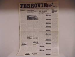 FERROVIE  FLASH /  N°8 - Trains électriques