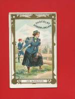 DEBAUVE & GALLAIS  BELLECHROMO DOREE ALPINISME ALPINISTE MONTAGNE JEUNE FEMME - Chocolate