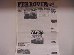 FERROVIE  FLASH /  N°10 - N°11 - Luglio 1985 - Trains électriques